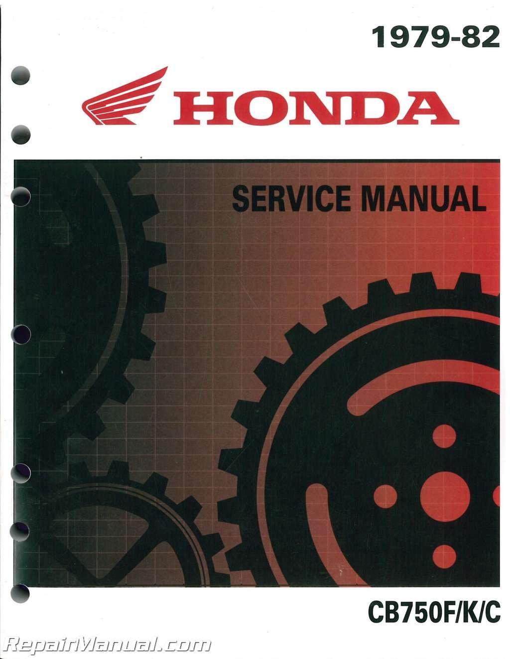 6142506y 1979 - 1982 honda cb750 motorcycle service manual paperback – 2004