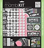 me & my BIG ideas Chalkboard Doodle Mambi Scrapbook Kit, 12 by 12-Inch