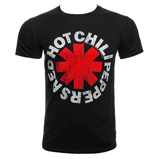 6d02899907 Red Hot Chili Peppers - Camiseta - Manga 3 4 - para Hombre  Amazon.es  Ropa  y accesorios