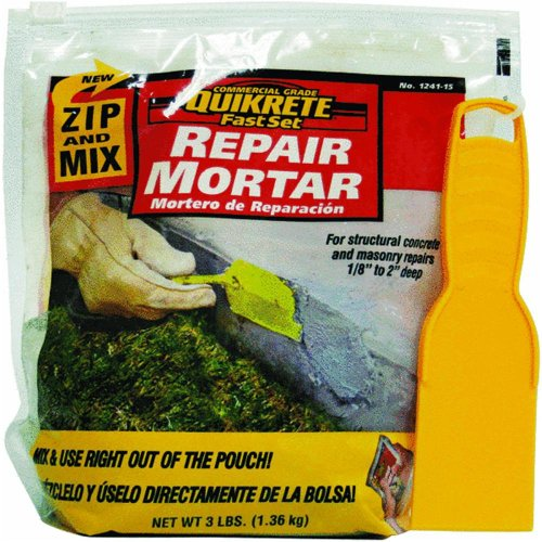 Quikrete 124115 FastSet Repair Mortar -