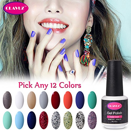 clavuz-soak-off-uv-gel-nail-polish-kit-pick-any-12-colors-collections-nail-lacquer-high-gloss-beauty