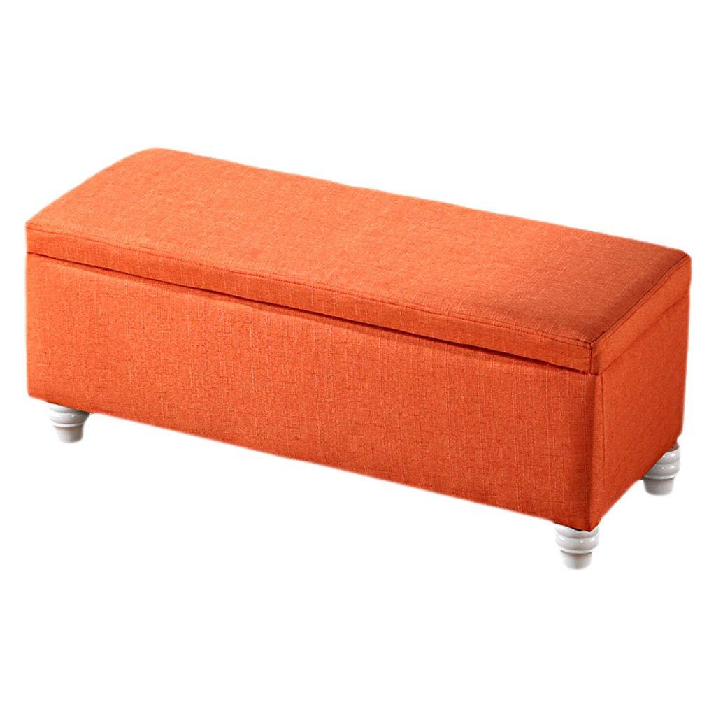 Couleur : Red, taille : 40 * 40 * 40cm Maison Poufs De Mode Pouf Pouf Rangement Coffre De Luxe Canap/é Banc Bureau Salon Si/ège Place Espace Maxi 300kg Tabouret XIN/®