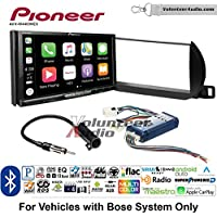 Volunteer Audio Pioneer AVH-W4400NEX Double Din Radio Install Kit with Wireless Apple CarPlay, Android Auto, Bluetooth Fits 2002-2004 Nissan Altima (With Bose)