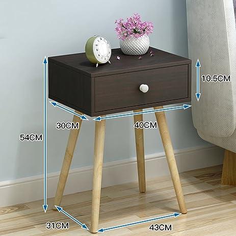 Amazon europe simple bedside cabinet modern anti fading europe simple bedside cabinet modern anti fading nightstand mini anti moisture bedside table watchthetrailerfo