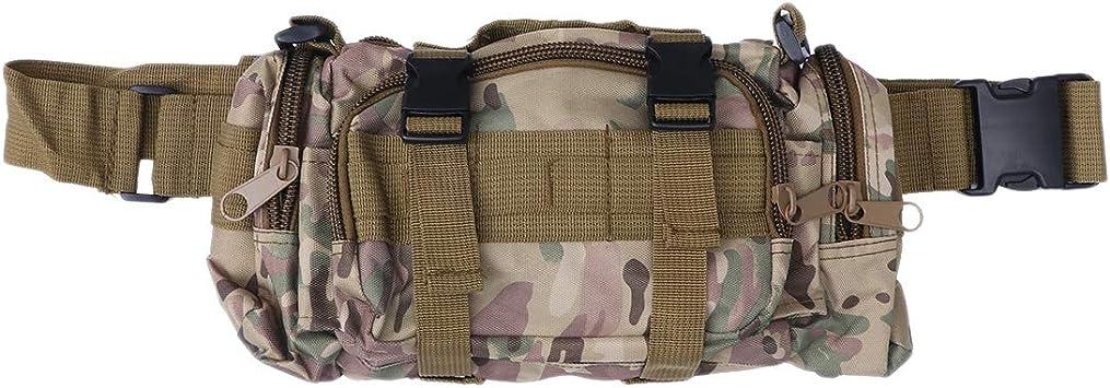 FENICAL Bolsa de Cintura Multifunción Sling Pack de Deportes Bolsa de Cofre de cámara (Camuflaje CP): Amazon.es: Equipaje