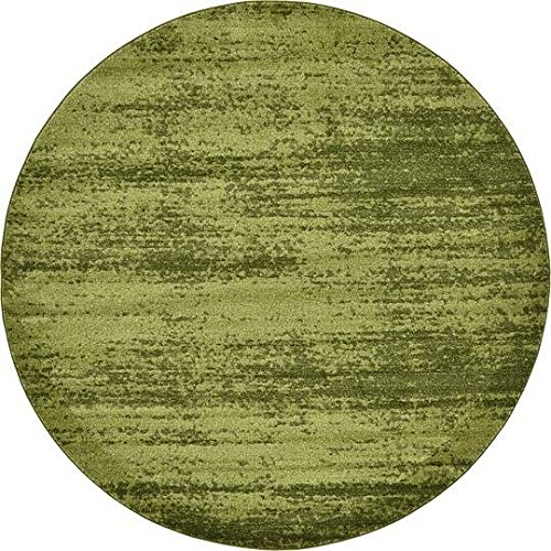 Green 8' Round Area Rug - 6