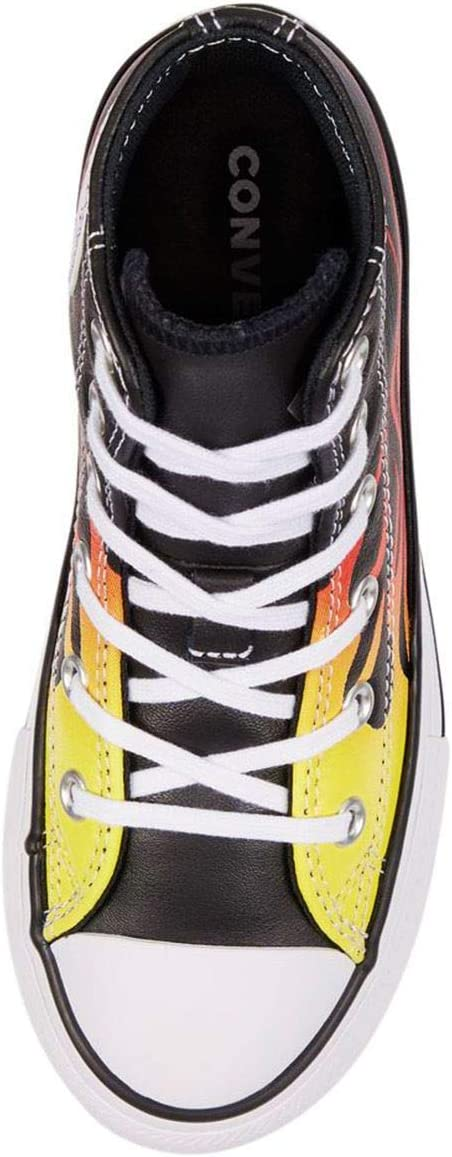 Converse Converse Sneakers voor heren Black White Fresh Yellow Flame