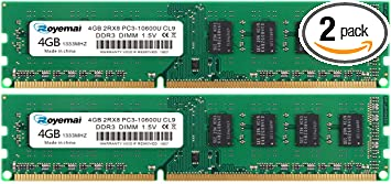 FREE INSTALLATION WITH YOUR LAPTOP // PC PURCHASE 8GB DDR3  MEMORY UPGRADE