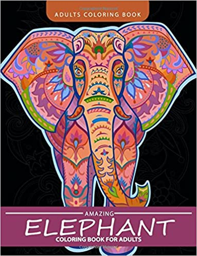 Elephant Adult Coloring Pages