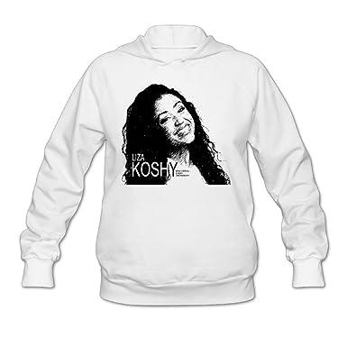 24362aef9 Hi Women Liza X KOSHY's web star Hoodie Sweatshirt Pullover Tops Blouse