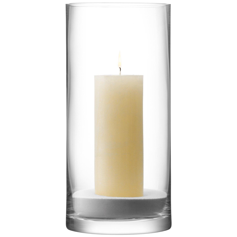LSA COLUMN フラワーベース(花器)/キャンドルホルダー 高さ36 x Ø17cm クリアー TLA0056 B004ME21H0