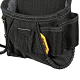 ToughBuilt - Project Pouch/Hammer Loop - Heavy-duty Construction, Custom Tape Measure Clip, 6 Pockets and Loops, Extreme-duty hammer loop