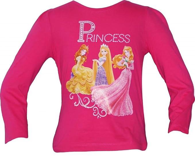 946830fe7 Ropa de descanso para niñas de las princesas Disney T-camiseta de manga  corta