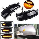Side Mirror Indicator Dynamic LED Turn Signal Light Blinker For Volvo C30 C70 S60 S40 S80 C70 V50 V70 2007 2008