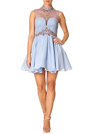 Forever Unique - NADIA - Pale Blue Prom Dress 6