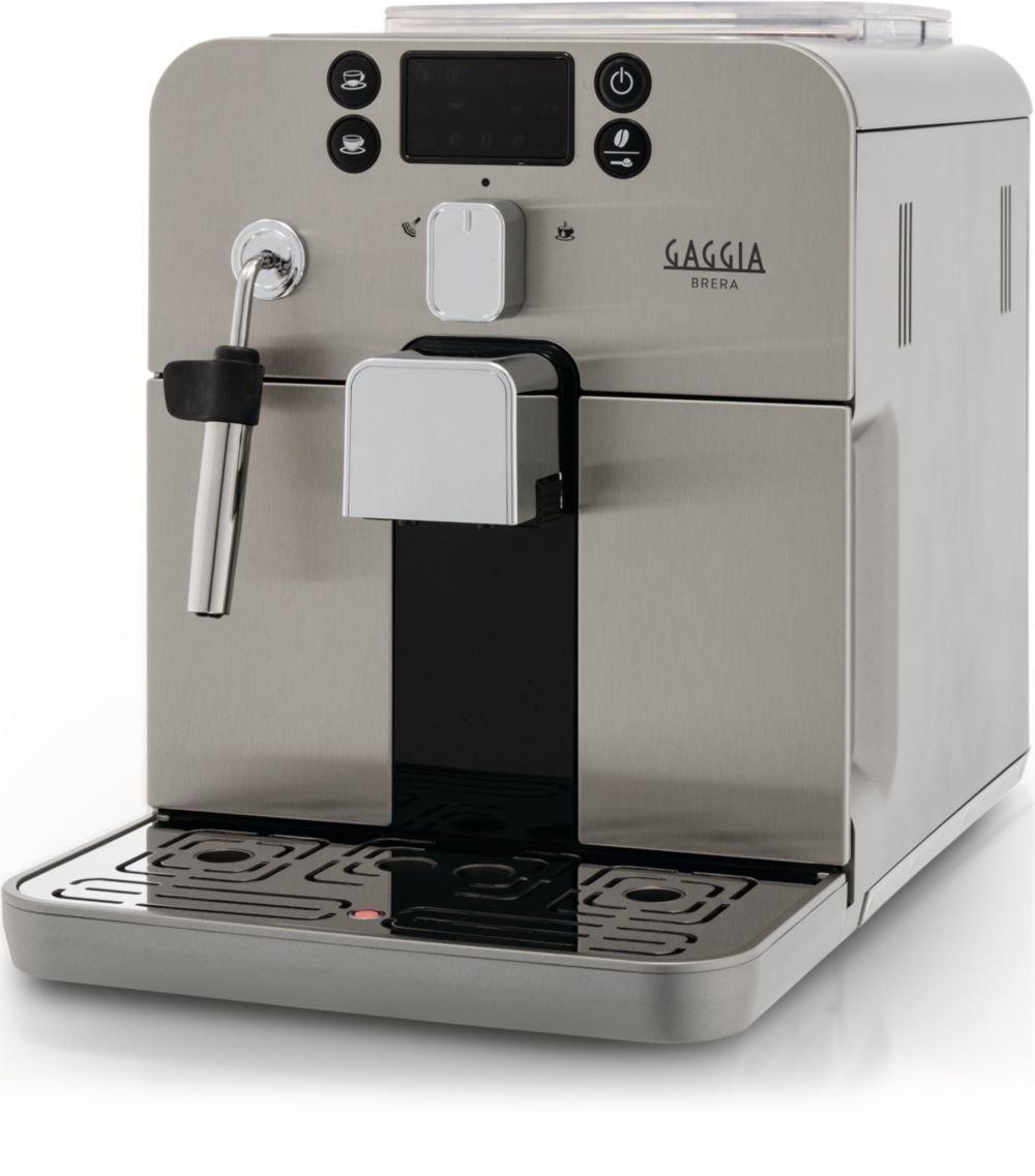 Gaggia Brera máquina Café Espresso Depósito 1,2 litros Potencia 1400 W Color Plateado: Amazon.es: Hogar