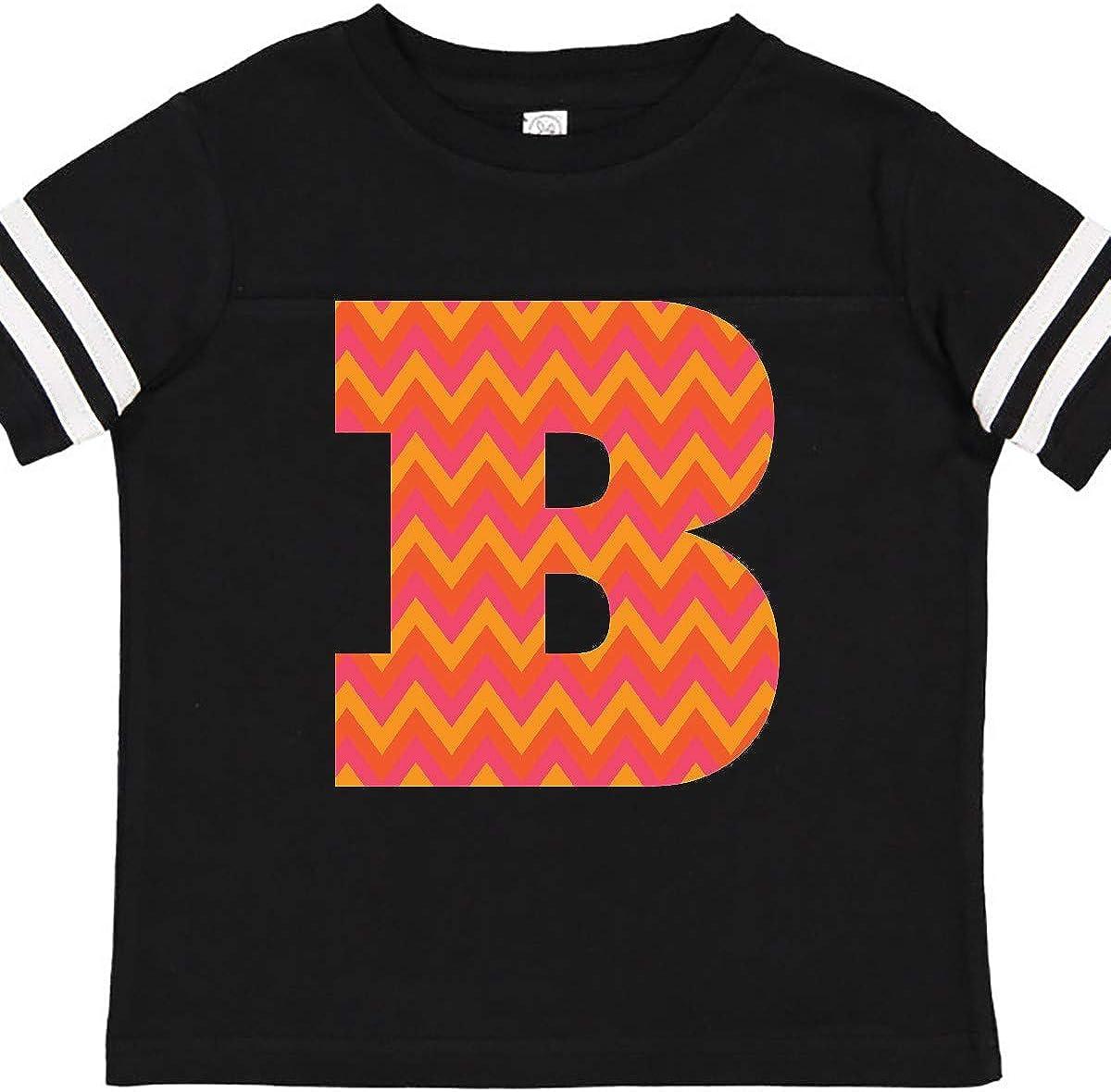inktastic B Monogram Chevron Alphabet Toddler T-Shirt