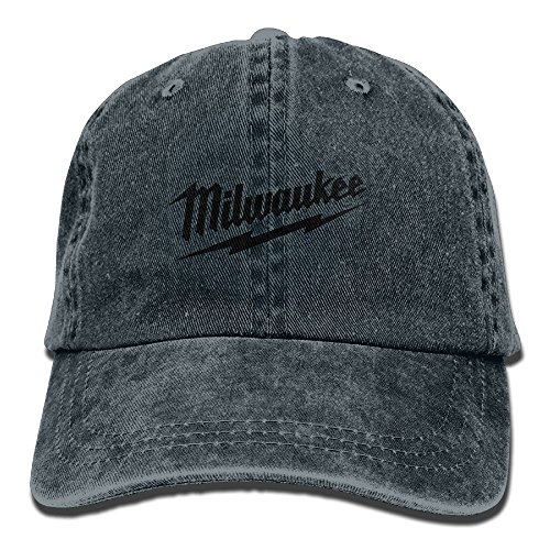 Mike Tanner Power Tool Logo Milwaukee Unisex Washed Baseball Cap Adjustable Cowboy Cotton Ball Hat Navy