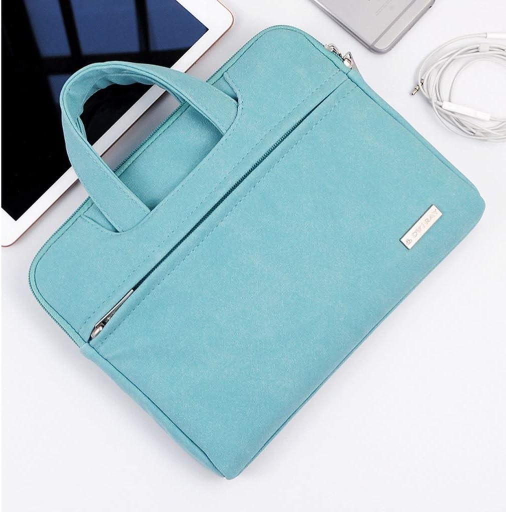 Sacoche for Ordinateur Portable 10//11//12//13 Pouce Protection Bag Tablet Bag Sac de Rangement Portable Liner Bag Color : Blue B, Size : 10 inches