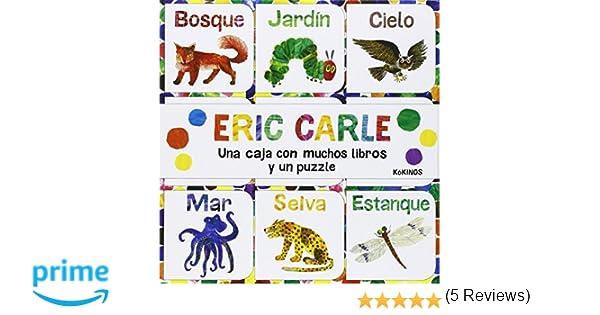 Una caja con muchos libros y un puzzle: Amazon.es: Eric Carle ...