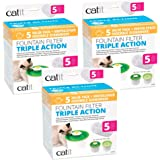 Catit Cat Water Fountain Replacement Filters (15-Count)