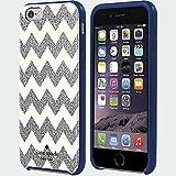 Kate Spade New York Flexible Hardshell Case for Iphone 6 - Chevron Silver Glitter