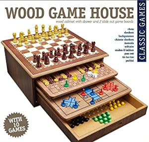 10 Game House Toys Games
