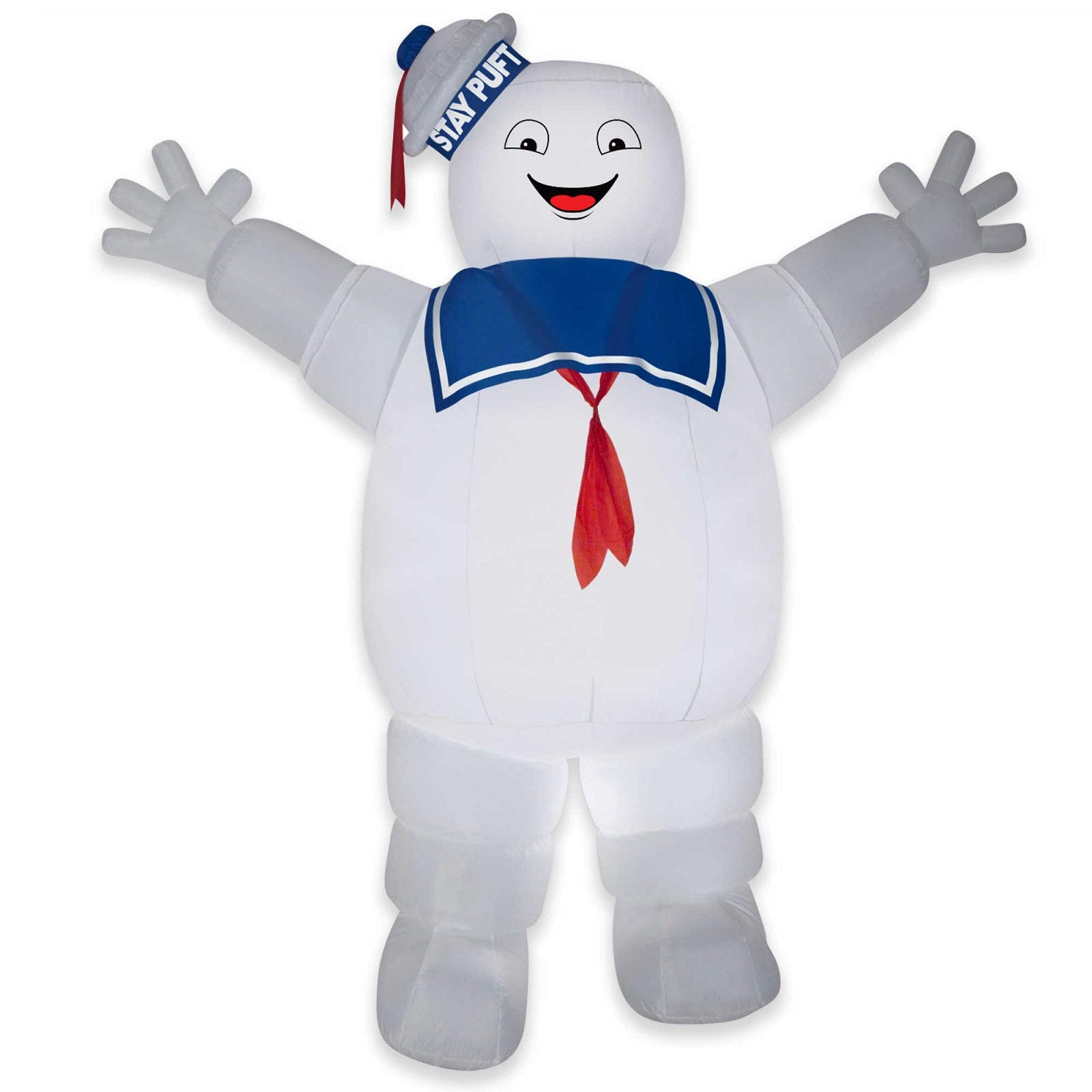 ghi Halloween Inflatable 9' Stay Puft Marshmellow Man Ghostbusters Paramormal Monster by Gemmy
