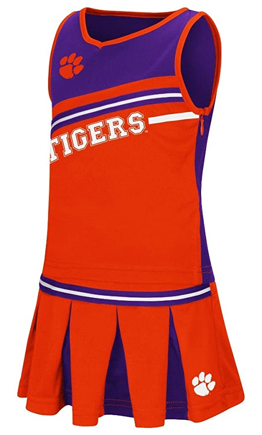643b2ea32 Amazon.com : Girls Toddler Clemson Tigers Orange Curling Cheer Set ...