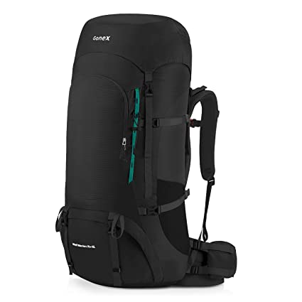 6a5be3c9f8 Gonex 70L/80L Internal Frame Backpack for Backpacking Hiking Traveling  Mountaineering Rain Cover Included