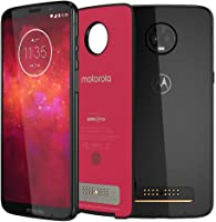 Moto Z3 Play Power Pack & DTV Edition, 128GB, Ônix