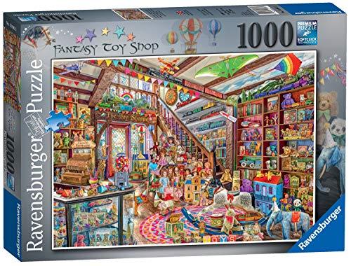 Ravensburger The Fantasy Toy Shop 1000pc Jigsaw Puzzle -