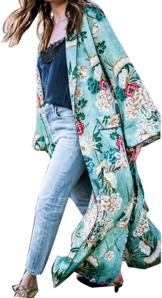 NINGSUN Moda Donne Casual Senza Spalline Foglia Floreale Stampata Scintillante Tuta Corta Sciolta//Estive Foglia Stampa Pantaloni Lunghe Siamesi//Eleganti Bello Tutine Jumpsuit