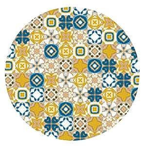 alfombrilla de ratón azulejos portugueses - ronda - 20cm