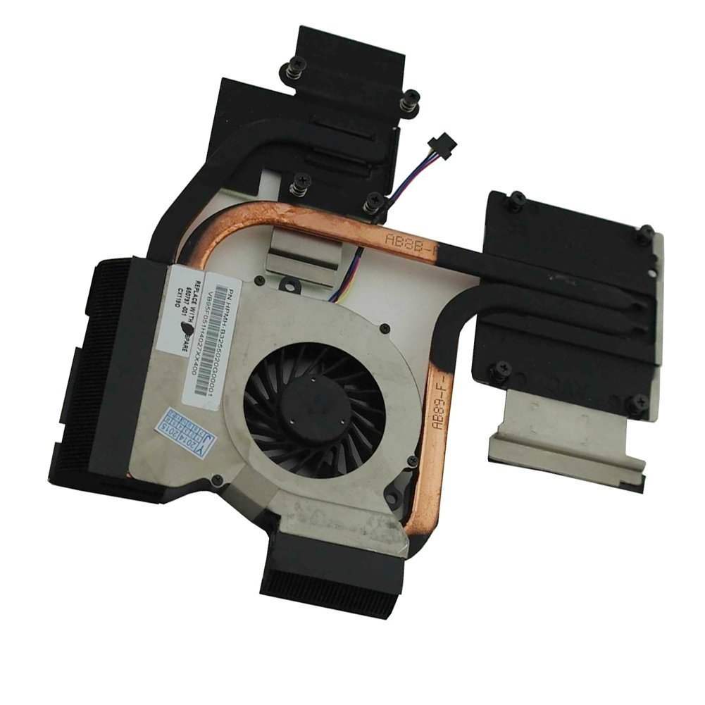 Generic CPU Cooling Fan For HP PAVILION DV7-6123CL DV7-6135DX DV7-6143CL DV7-6143NR DV7-6163US DV7-6165US DV7-6169NR DV7-6188CA DV7-6197CA DV7-6164NR Series New Notebook Replacement Accessories P/N:650797-001 653627-001 666391-001¡¡HPMH-B3275020G00001