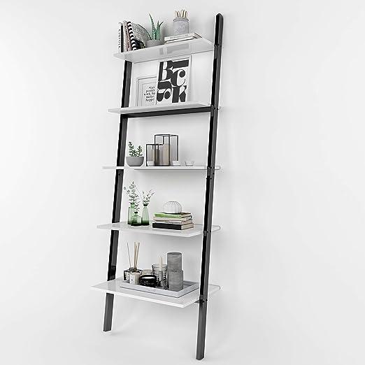 WOLTU Estantería Escalera Decorativa Librería Estante de ...