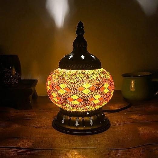 Decoración moderna taza del mosaico de mesa lámparas de la cama ...