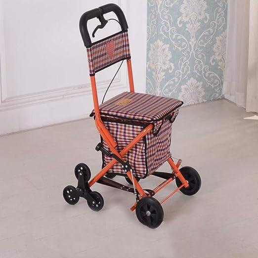GGYDD Plegable Andadores para Discapacidad Silla,Carrito De ...