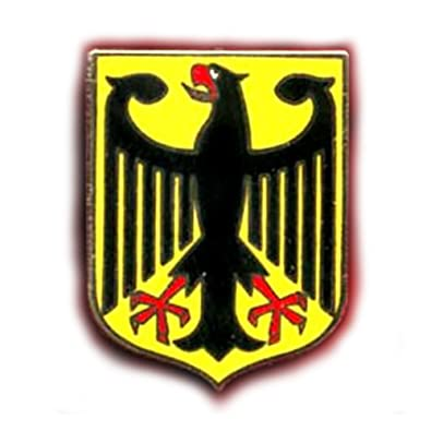 Amazon.com: GERMAN EAGLE GERMANY STATE COAT OF ARMS LAPEL PIN ...
