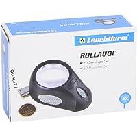 "Standlupe ""BULLAUGE"" mit 5-facher Vergrößerung, 6 LED's, 3"