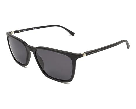 4e93458254 Amazon.com: Sunglasses Boss Black 959 /S 0003 Matte / M9 gray cp pz ...