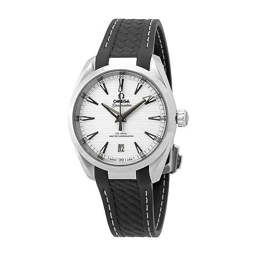 Omega Seamaster Aqua Terra - Reloj automático para hombre, esfera plateada, 220.12.38.20.02.001: Amazon.es: Relojes