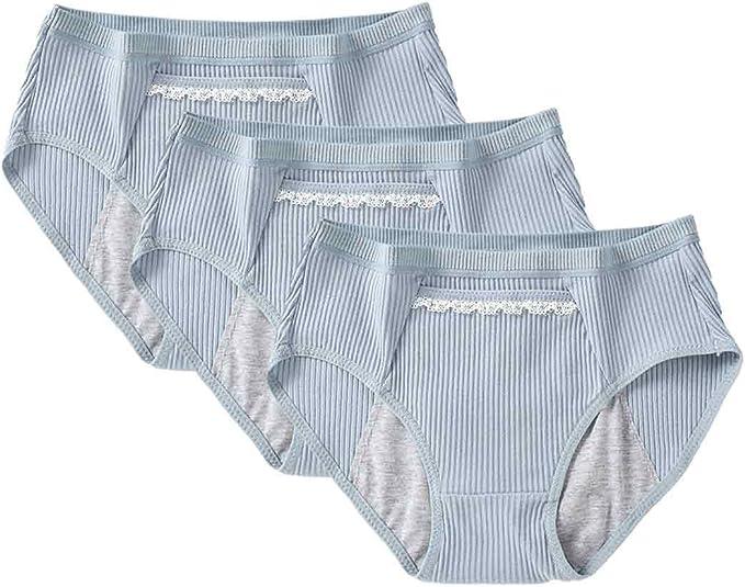 Inlefen Ropa Interior Protectora para el período Menstrual de Las ...