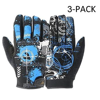 Vgo. High Dexterity Light Duty Mechanic Glove (Blue Color, Size L/XL,XL/XXL)