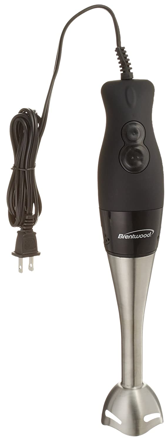 Brentwood Appliances HB-33BK 2-Speed Hand Blender, 1, Black