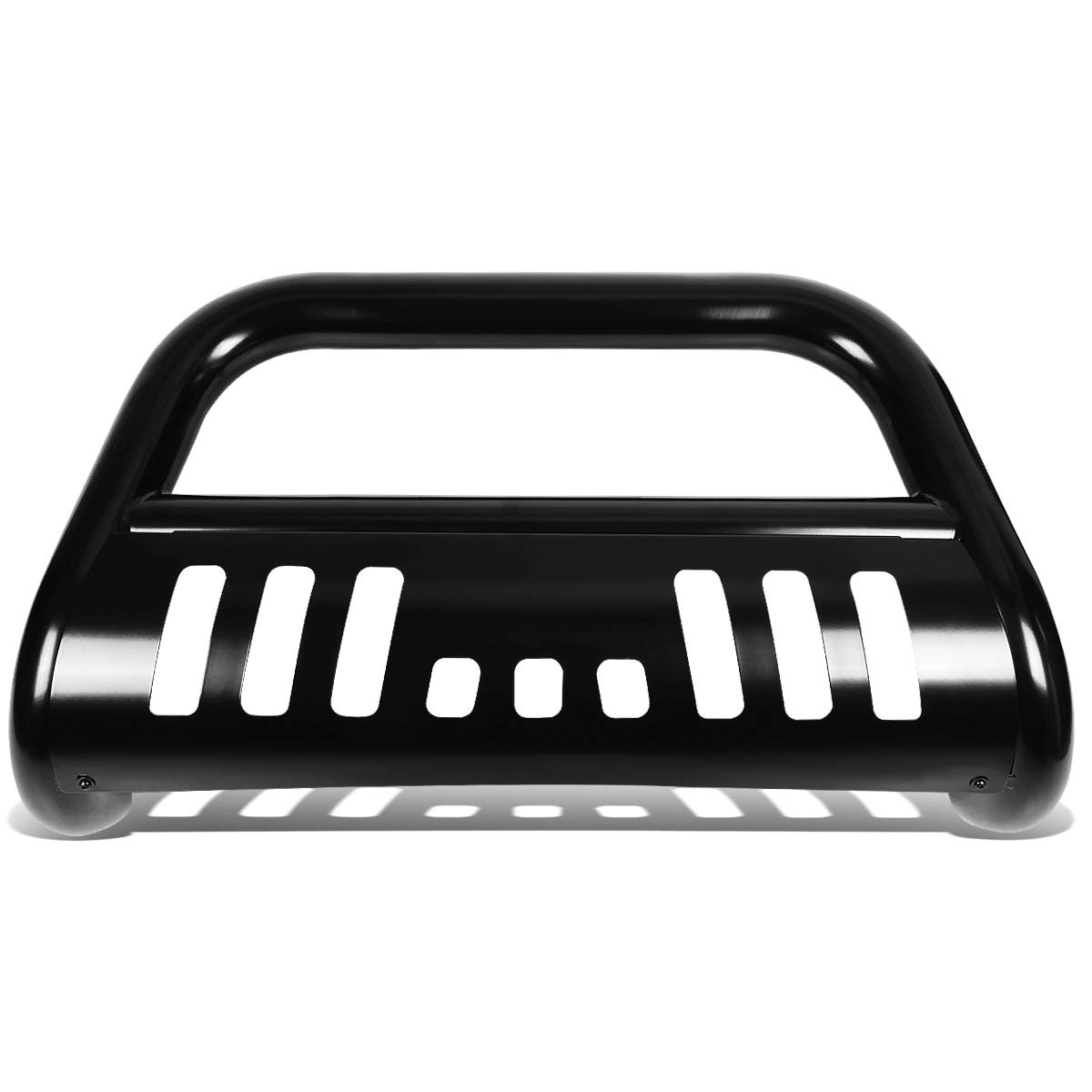 BURB-013-BK For 08-10 Ford F250SD F350SD F450SD DNA Motoring BURB013BK 3 Front Bumper Push Bull Bar
