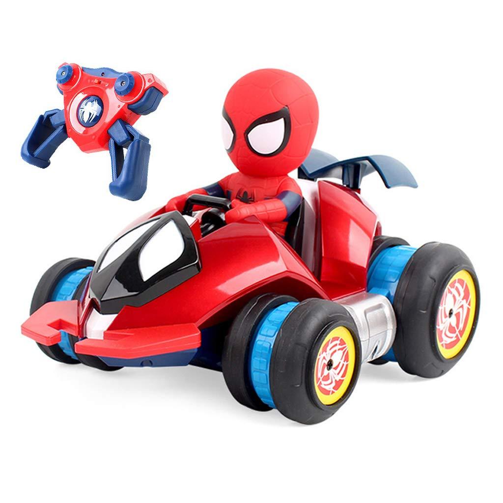リモートコントロールカースタントカーモデル、電気リモートコントロールスタントカー、リモートコントロールカー左右車のおもちゃ - 高速漂流少年誕生日プレゼント子供のおもちゃ   B07NXPXFVY
