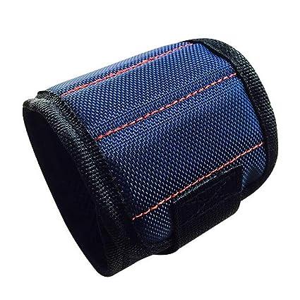 370mm Nylon Wrist Strong Magnetic Nail Screw Drill Bit Holder Wristband Holding Hand Tool Bag Bracelet Belt Car Auto Repair Kit Hand Tool Sets Tool Sets