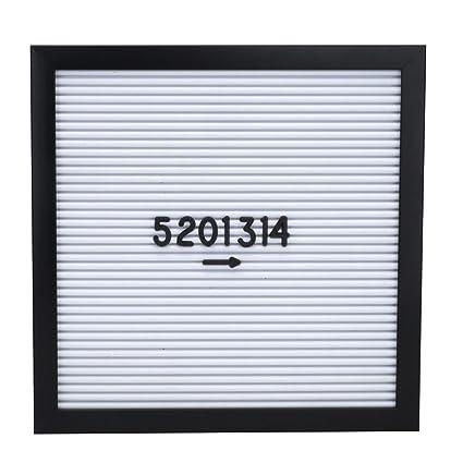 amazon com cuekondy clearance gray felt letter board wall mount