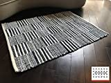 LOOMAGE INDIA Denim rug【Japan Produce】25.2×33.9inch